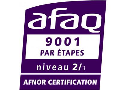 Lymphobank certifié ISO 9001 niveau 2 par AFNOR Certification